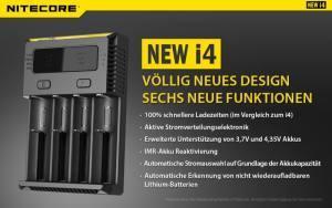 Nitecore Sysmax NEW i4