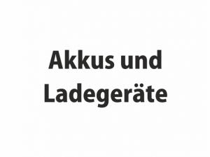 Akkus / Ladegeräte